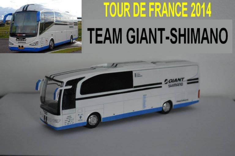 Bus Giant Shimano 2014